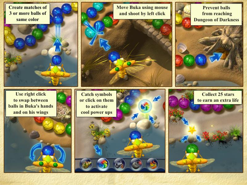 صورة تحميل لعبة زوما الفراشة Butterfly Escape للكمبيوتر من ميديا فاير