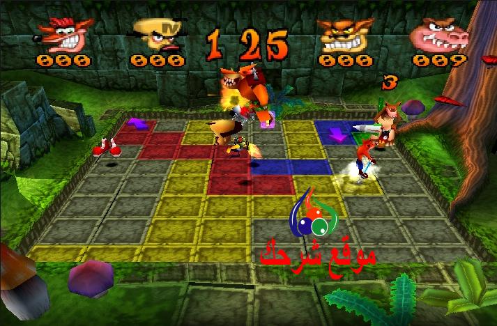 صورة تحميل لعبة كراش باش Crash Bash للكمبيوتر من ميديا فاير