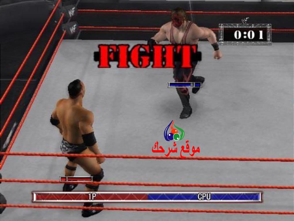 جرافيك لعبة المصارعة للكمبيوتر