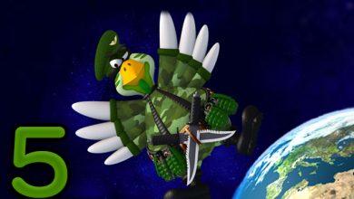 صورة تحميل لعبة الفراخ 5 كاملة مضغوطة للكمبيوتر من ميديا فاير Chicken invaders 5