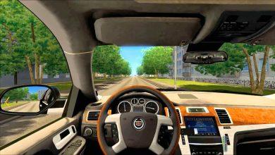 صورة تحميل لعبة القيادة في المدينة City Car Driving قيادة السيارة من الداخل